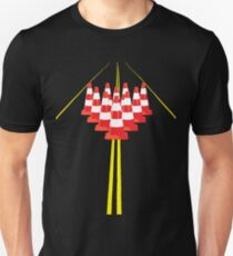 Witches hats as bowling pins Unisex T-Shirt