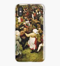Pieter Bruegel the Elder - The Wedding Dance (1566)  iPhone Case/Skin
