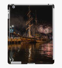New year eve Fireworks in Hobart Tasmania  iPad Case/Skin