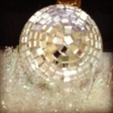 Disco ball 'Christmas bauble' by AngieRocksArt