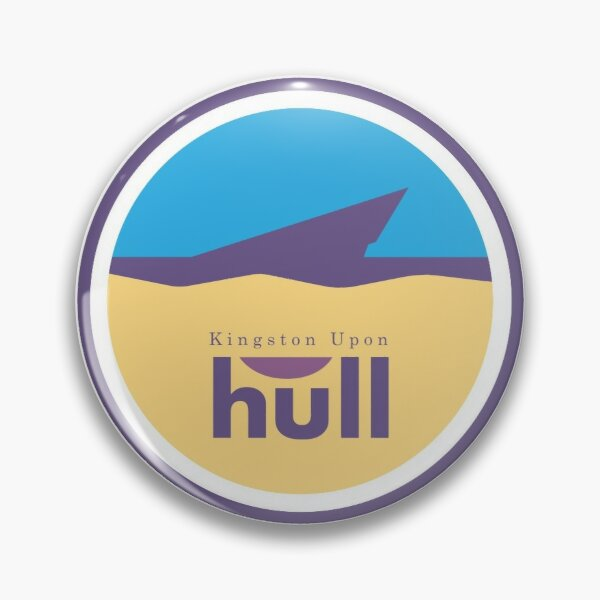 Kingston Upon Hull - The Deep - Icon Pin