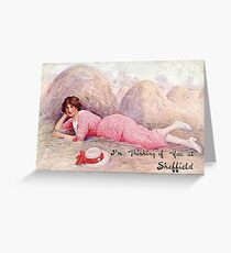 Thinking of you in Sheffield, World War One Greeting Card