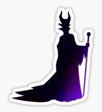 Villain Inspired Silhouette Sticker