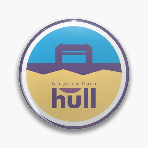 Kingston Upon Hull - The Tidal Barrier - Icon Pin