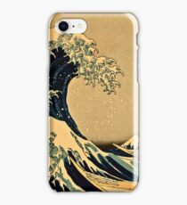 Katsushika Hokusai - The Great Wave Off the Coast of Kanagawa 19th century iPhone Case/Skin