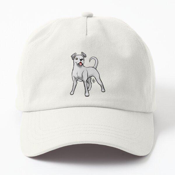 Boxer - White Natural Dad Hat