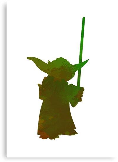 Jedi Inspired Silhouette by InspiredShadows
