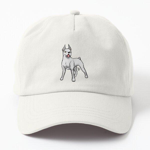 Boxer - White Dad Hat