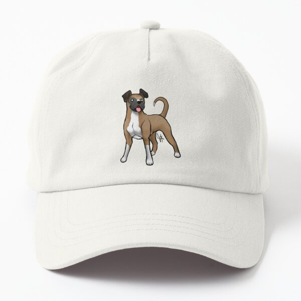 Boxer - Fawn Natural Dad Hat
