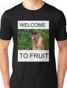 WELCOME TO FRUIT Unisex T-Shirt