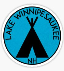 LAKE WINNIPESAUKEE NEW HAMPSHIRE CAMPING BOATING Sticker