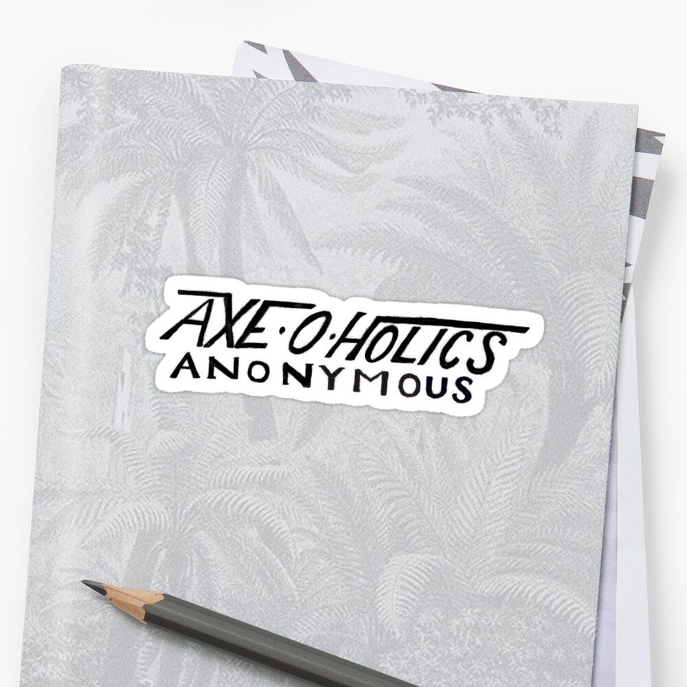 Axe-O-Holics Anonymous Kelly True Temper Stamp by Stxradley