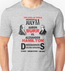 Burr gegen Hamilton Slim Fit T-Shirt