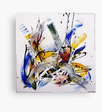 Abies - Modern abstract painting Canvas Print