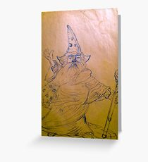 wizzard Greeting Card