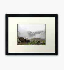 Sca Fell Clouds Framed Print