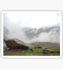 Sca Fell Clouds Sticker
