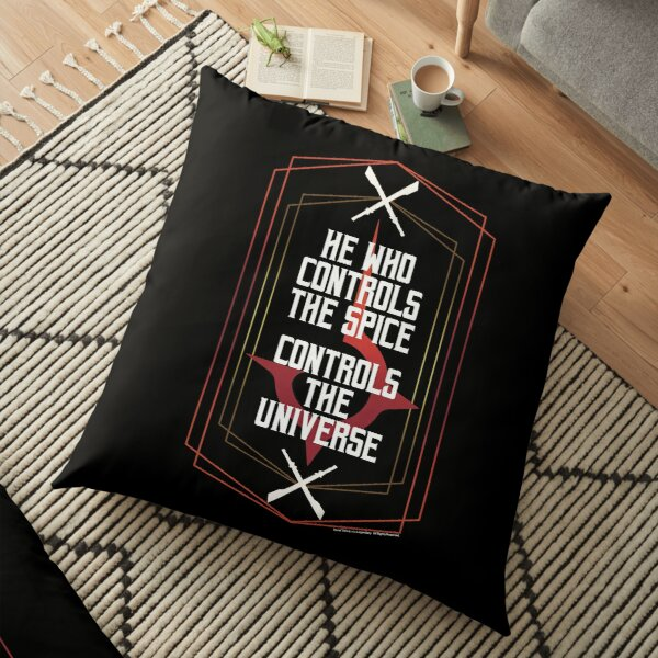 He who controls the spice-Dune Movie 2021-Baron Vladimir Harkonnen Floor Pillow