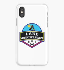 LAKE WINNIPESAUKEE NEW HAMPSHIRE CAMPING BOATING SAILING iPhone Case/Skin
