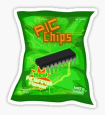 Bag of IC Chips Sticker