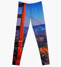 San Francisco at Sunset Leggings