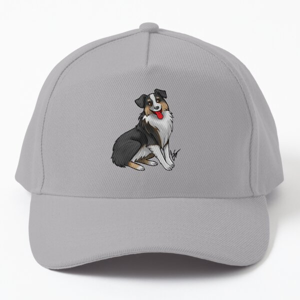 Australian Shepherd - Black Tri-Color Baseball Cap