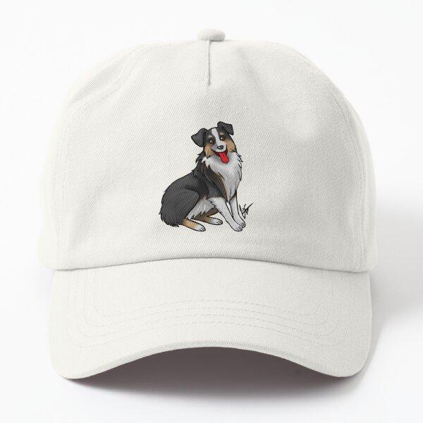 Australian Shepherd - Black Tri-Color Dad Hat