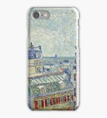 Vincent Van Gogh - View From O s Apartment, March 1887 - April 1887  iPhone Case/Skin