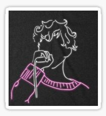 Troye Sivan Neon Sign Sticker