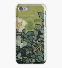 Vincent Van Gogh - Wild Roses, April 1890 - May 1890  iPhone Case/Skin