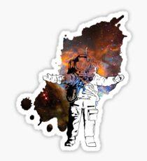 Space Man Sticker