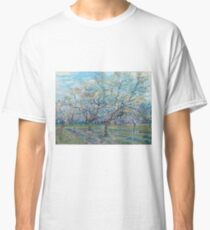 Vincent Van Gogh - Orchard With Blossoming Plum Trees, 1888 Classic T-Shirt