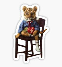 Tiny Tiger Valentine Sticker