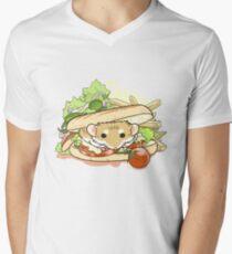 Panini Sandwich Men's V-Neck T-Shirt