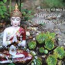 Buddha - Happiness is the way by Lilaviolet