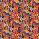 Floral Stripe by lottibrown