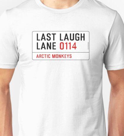 Arctic Monkeys - Fluorescent Adolescent Last Laugh Lane Unisex T-Shirt