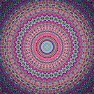 Kaleidoscope Mandala - Joyburst by Carrie Dennison