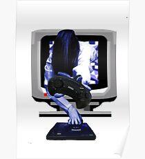 Sadako MegaDrive Poster