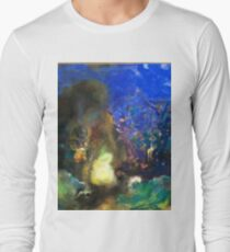 Odilon Redon - Roger And Angelica 1910  Long Sleeve T-Shirt
