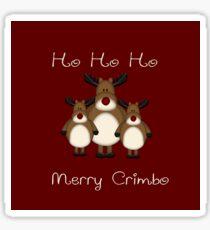 Merry crimbo  Sticker