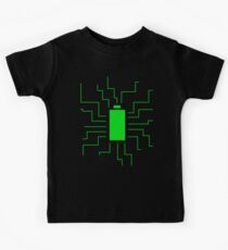 Fully Charged Kids Tee