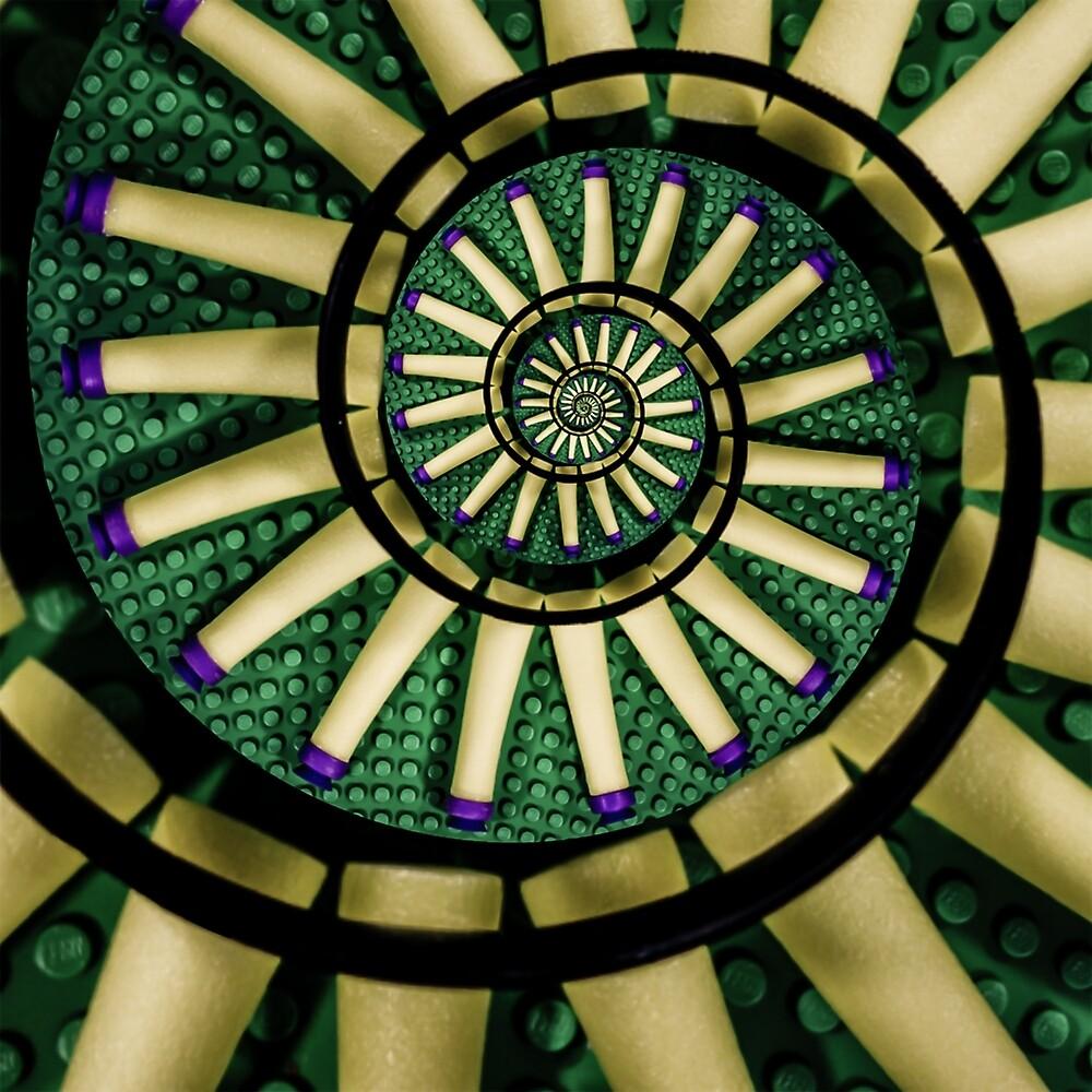A Swirl of Legonerf by Randy Turnbow