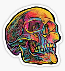 Skully GlowSkull Sticker