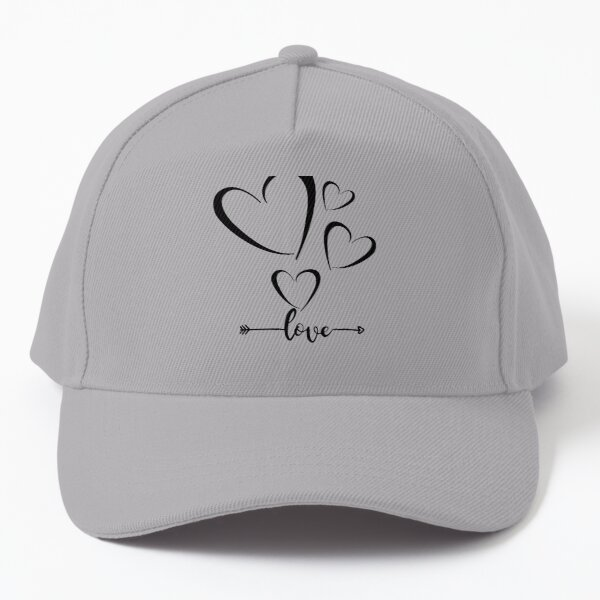 Beautiful love hearts Baseball Cap