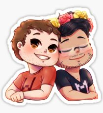 Wade and Mark Sticker