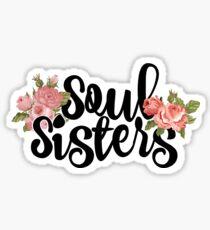 Soul Sisters Sticker