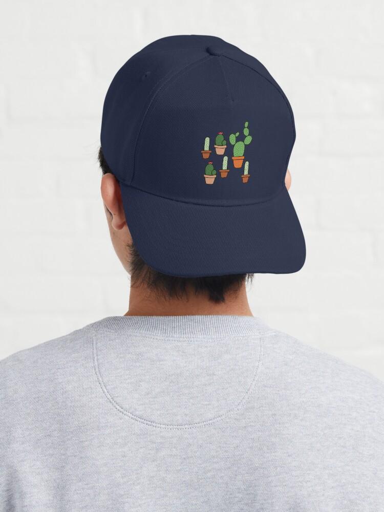 Alternate view of Pink Cactus Pattern Cap