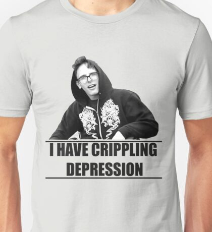 I Have Crippling Depression IDubbbzTV Unisex T-Shirt