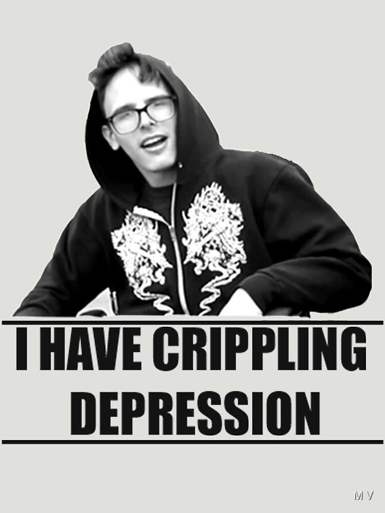 I Have Crippling Depression IDubbbzTV | Unisex T-Shirt